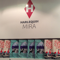 UNLEASHING MR. DARCY at the Harlequin Mira UK Office